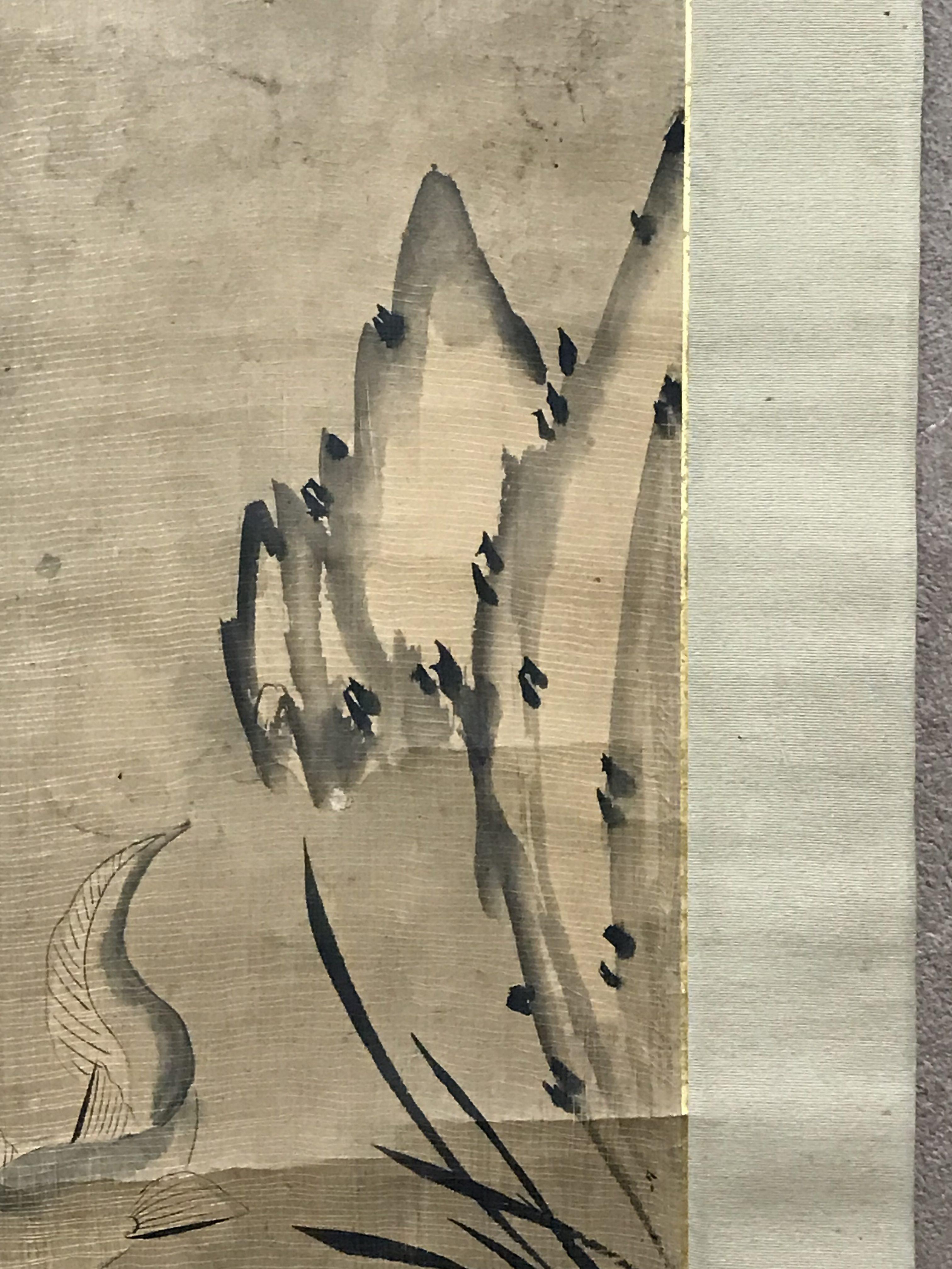 朝鮮民画 魚楽図