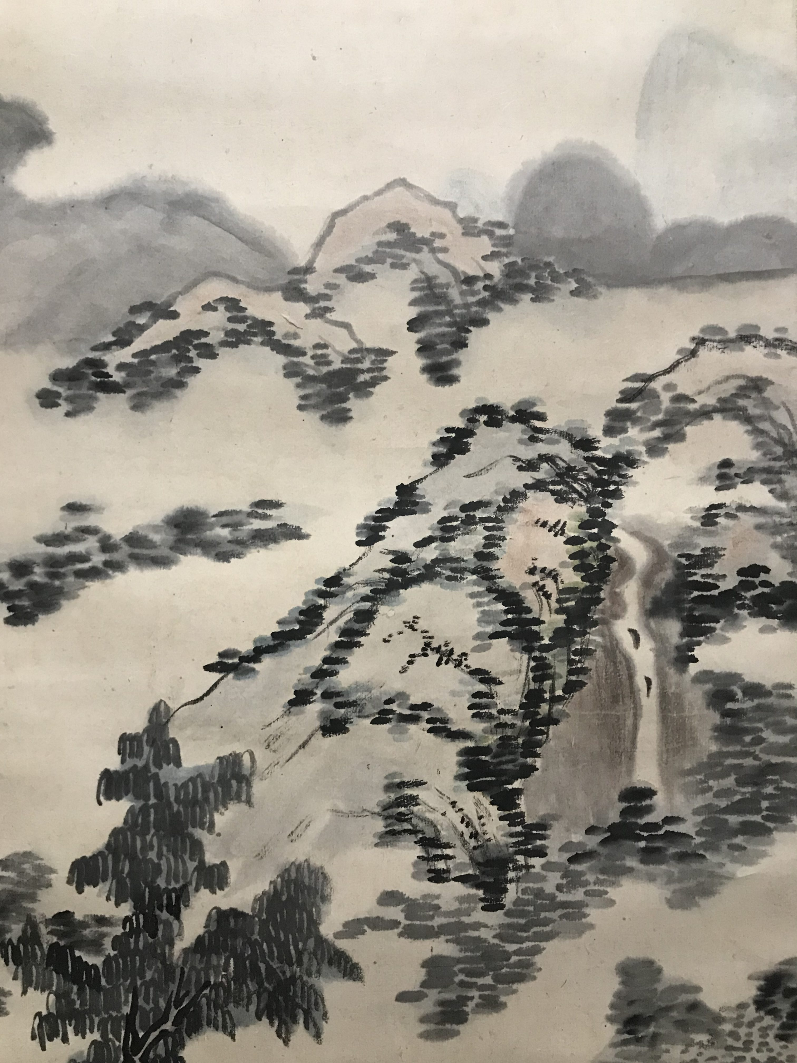 井上金峨 山水図