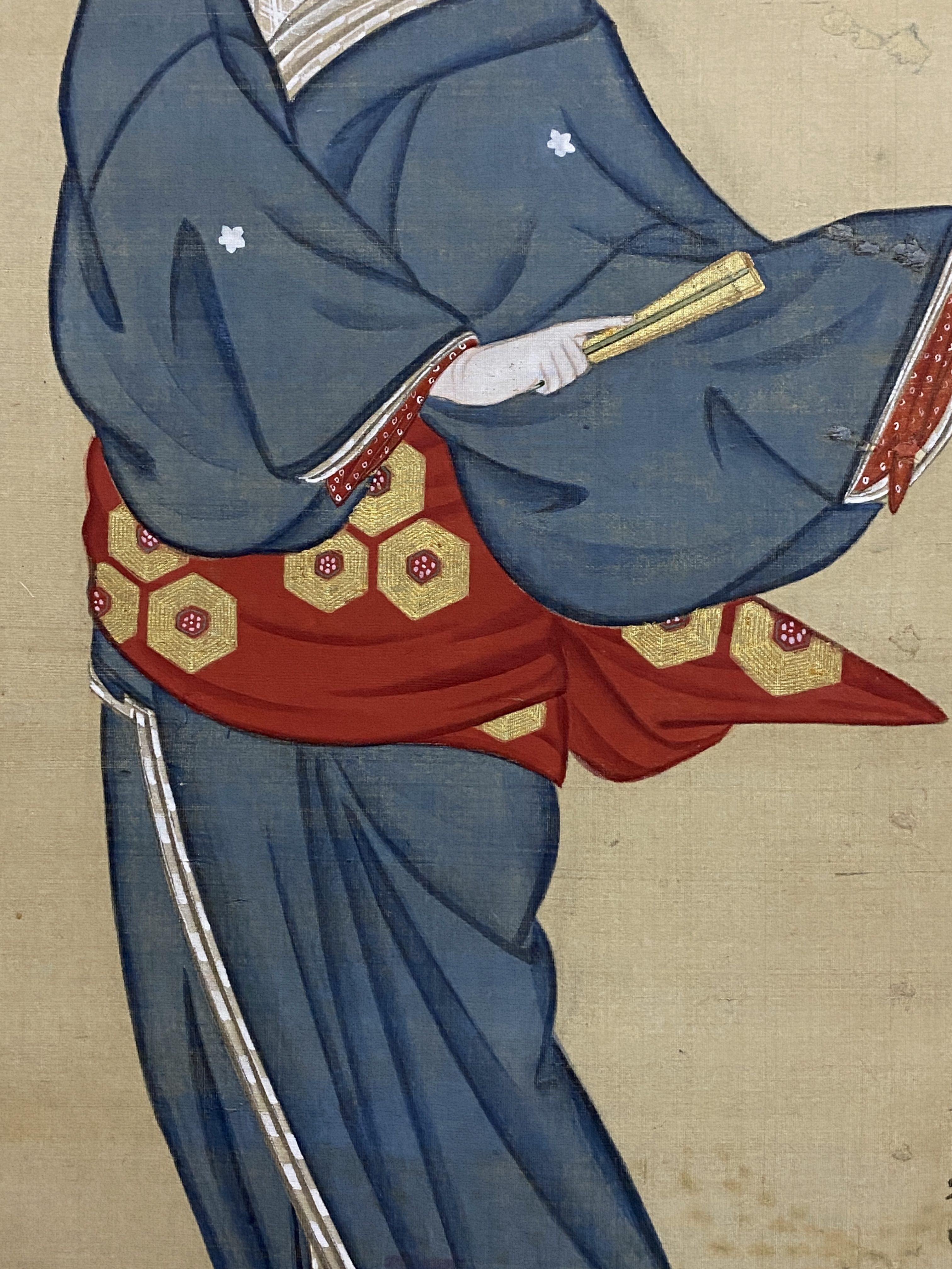 祇園井特筆 舞妓図