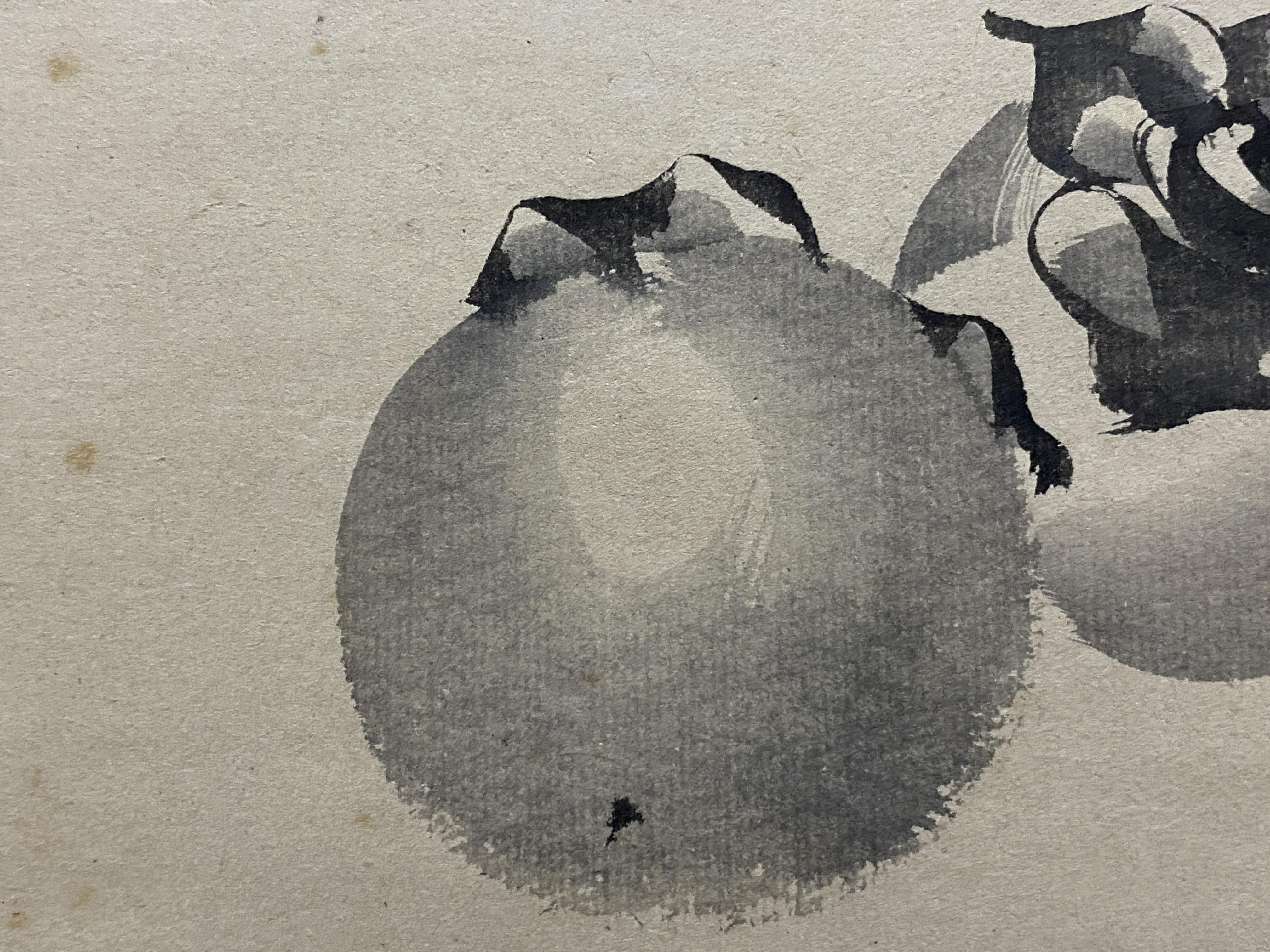 森一鳳 柿図