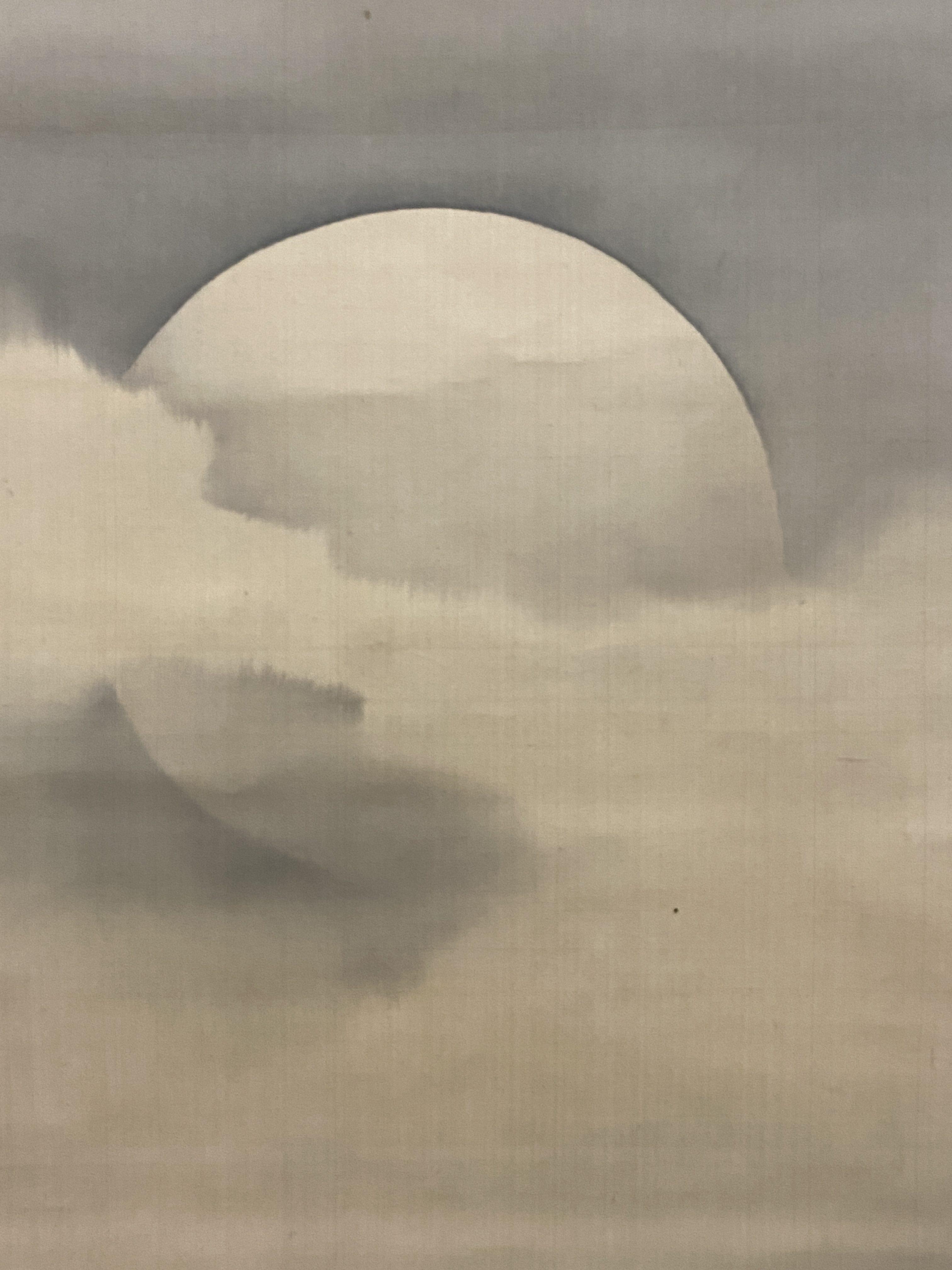 森一鳳 満月図