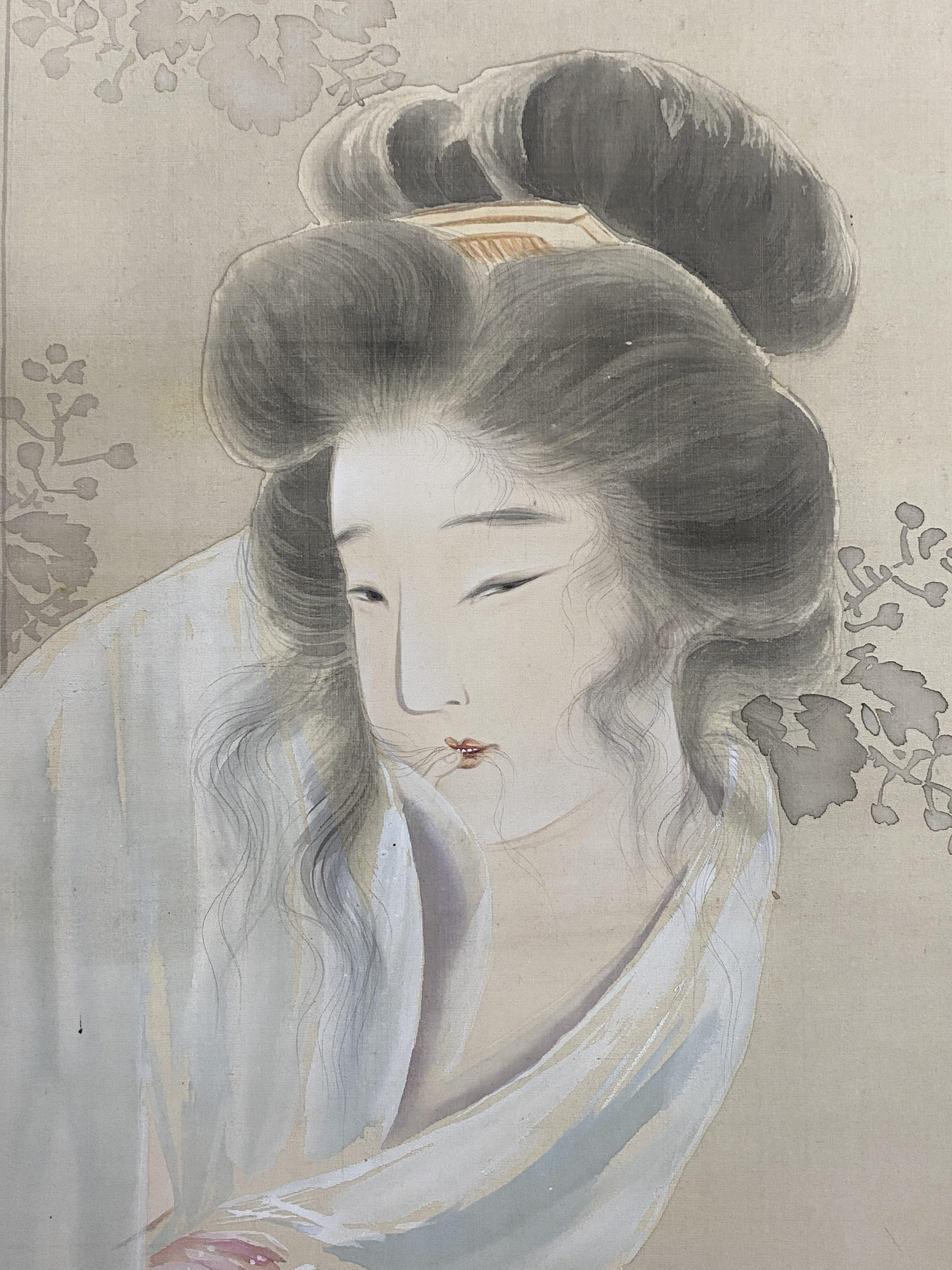 山本暁邦 艶美人図