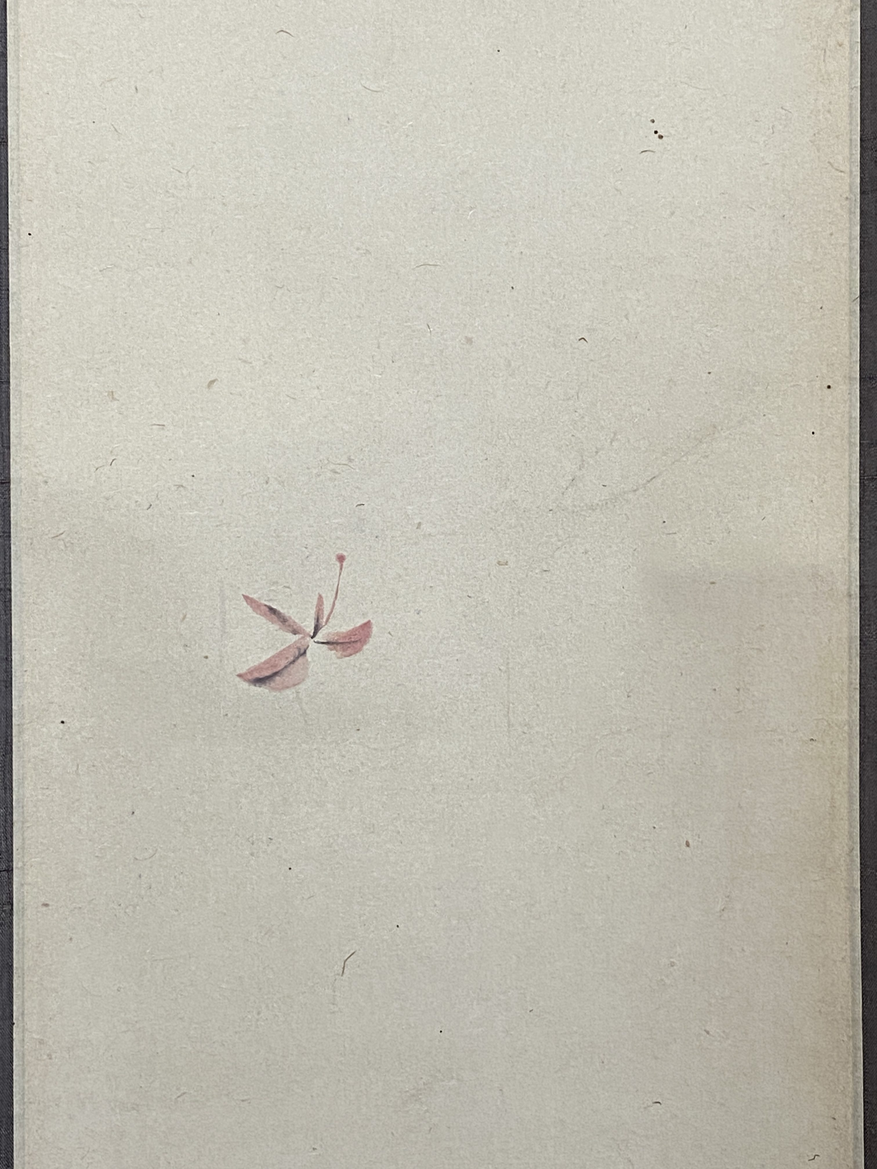 渡辺清筆 舞紅葉図